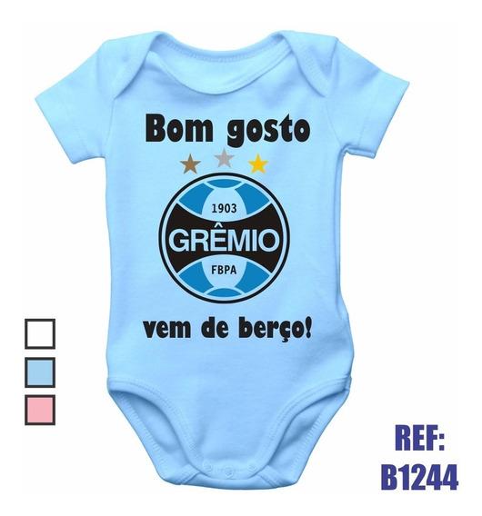 Body Infantil Grêmio Bom Gosto Vem De Berço Bebê