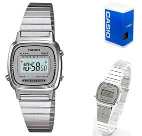 Reloj Casio Mujer Digital Plateado Relojes en Mercado
