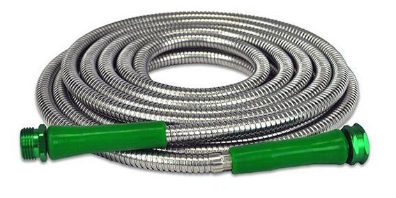 Metal Garden Hose Manguera De Aluminio Flexible Metal
