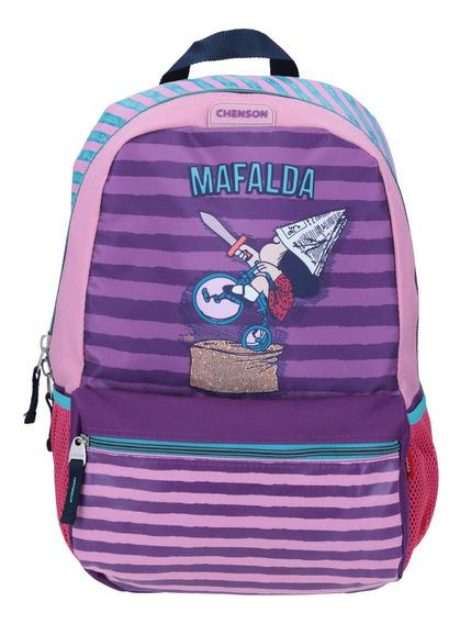Mochila Grande Morado Chenson Mafalda Rider
