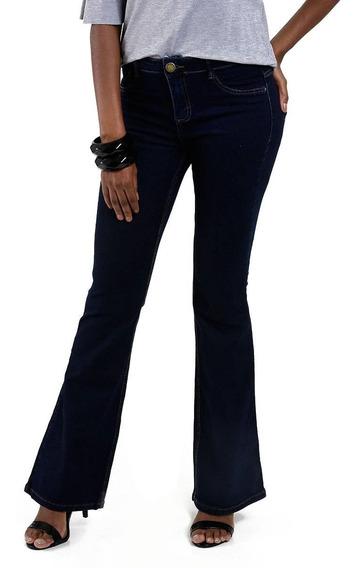 Calça Feminina Flare Jeans Marisa