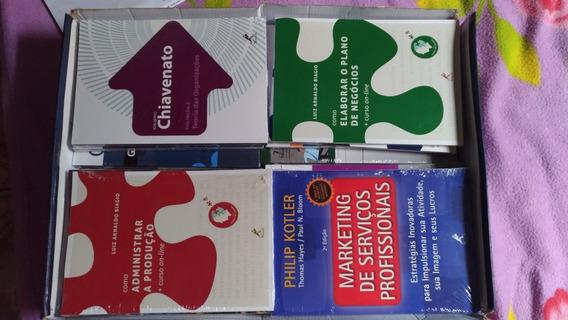 Kit Coleção Acadêmica De Administração (chiavenato)