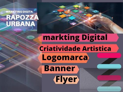 Imagem 1 de 1 de Marketing Digital. Flyers, Slides, Vídeos,anúncios, Cardápio