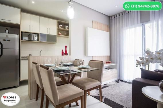 Apartamento Para Venda Tem 49 Metros Quadrados Com 2 Quartos
