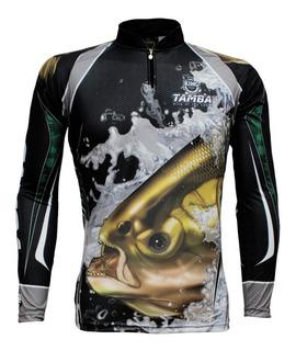 Camisa, Camiseta De Pesca King Proteção Uv Kff 304