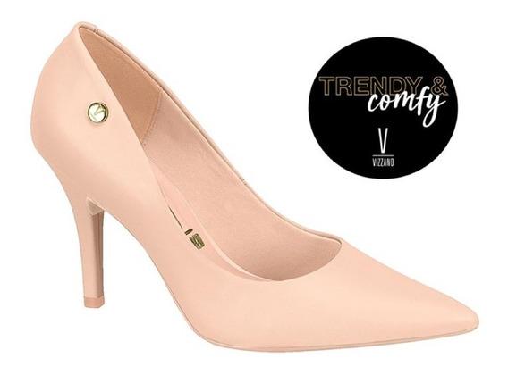 Scarpin Feminino Vizzano Trendy & Comfy Varias Cores.