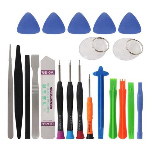 Kit 21 Herramientas Para Reparación De Celulares Y Tabletas