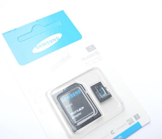 Cartão Sdhc 64gb + Adaptador Sb Celular Samsung Guardar Foto