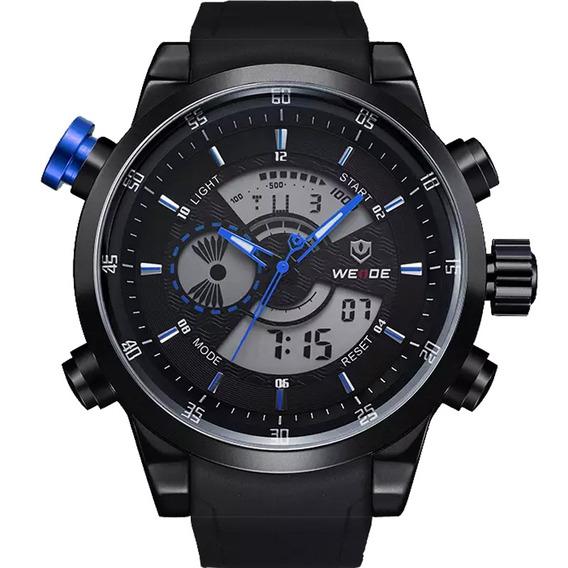 Relógio Weide Masculino Wh-3401original Garantia Nota 10163
