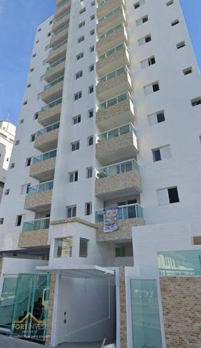 Imagem 1 de 16 de Apartamento Com 2 Dormitórios À Venda, 60 M² Por R$ 262.000,00 - Ocian - Praia Grande/sp - Ap2242
