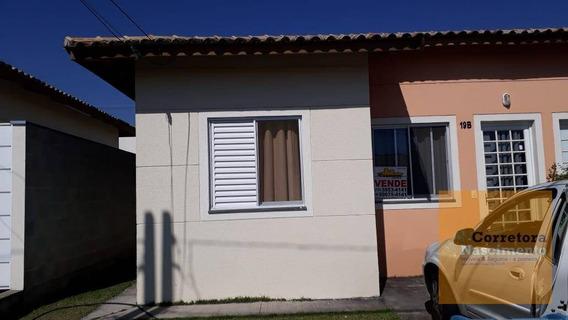Casa Com 2 Dormitórios À Venda, 45 M² Por R$ 110.000 - Jardim Marcondes - Jacareí/sp - Ca1454