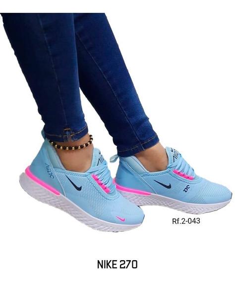 Moda 270 Tenis Deportivo Zapatilla Dama Shoes
