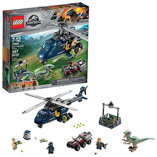 Lego Jurassic World Blue´s Helicopter Persecución 75928 Kit