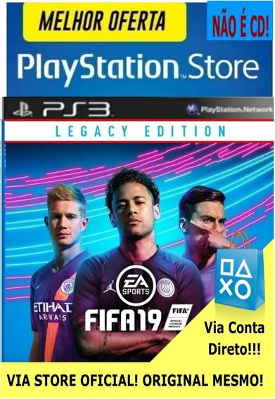 Fifa 2019 19 Ps3 Português Digital Original Mesmo! Via Psn
