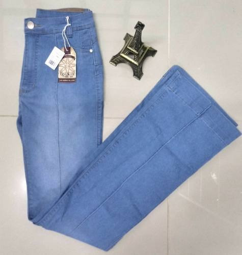 Calça Trip Surf Jeans Feminina Flare Frizo Modeladora