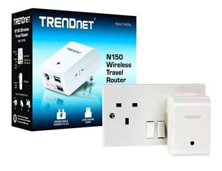 Router De Viaje Repetidor Wisp Trendnet Wireless N 150 Mbps