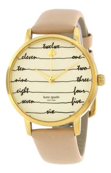 Reloj Kate Spade Live Colorfully Dorado