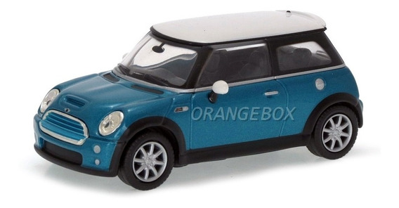 Mini Cooper S Yat Ming 1:43 C/ Display Acrílico 94248-azul