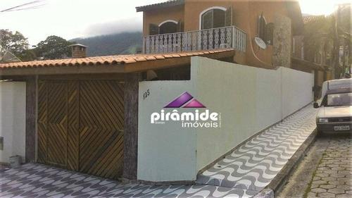 Casa Com 3 Dormitórios À Venda, 160 M² Por R$ 590.000,00 - São Francisco - São Sebastião/sp - Ca5305