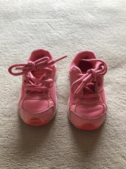 Zapatillas Topper Citius Talle 20 Color Rosa