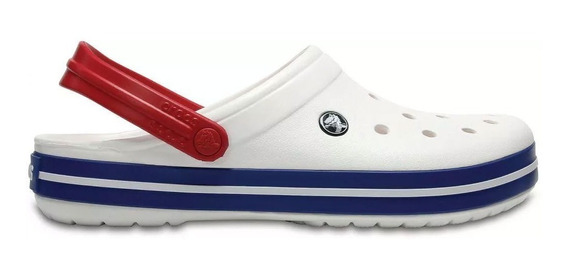 Crocs Crocband 11016 White / Blue Jean Relaxed Fit 1029