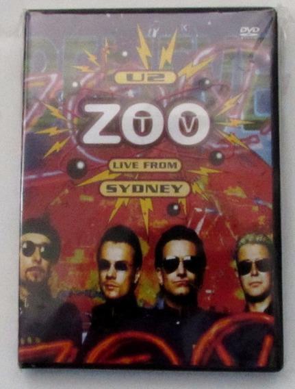 Dvd U2 Zoo Tv Live From Sydney (duplo) Novo Raro