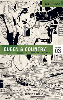 Queen And Country Nº 03/04 De Greg Rucka - Comics Argentica