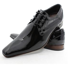 d2f4fc0873 Sapato Social Verniz Preto Em Couro Bigioni Masculino - Sapatos ...