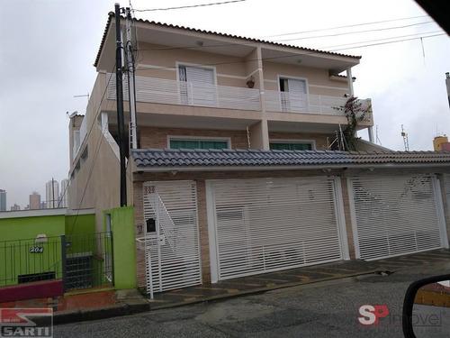 Imagem 1 de 13 de Sobrado - Jardim Paraíso - 3 Dormitórios - Lindo Espaço Gourmet  - St19305