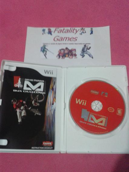 Dave Mirra Bmx Challenge Para Nintendo Wii (semi Novo)