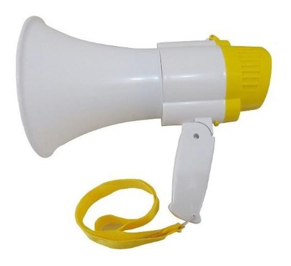 Megafone Profissional Potente 35w Memória E Gravador De Voz