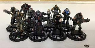 Heroclix Gears Of War Serie Completa Cog & Locust