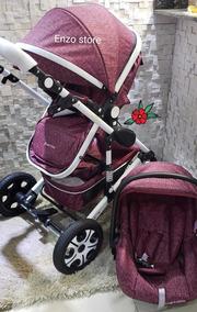 Confort Baby Stroller Importado Super Resistente Novo