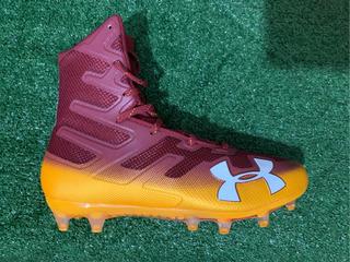 Comenzar Reprimir Cálculo  Zapatos De Futbol Americano Us 8 Under Armour Segunda Mano - Todo ...