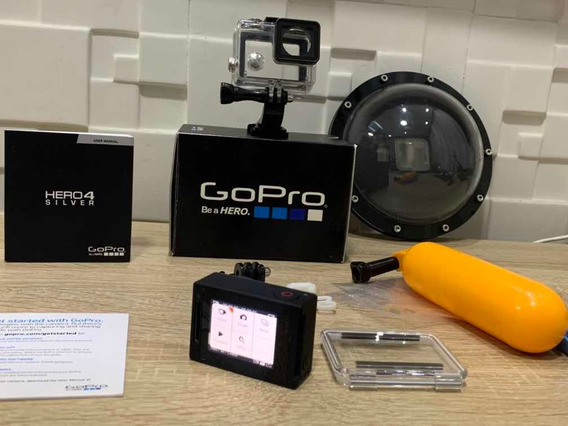 Camera Gopro Hero4 Silver + Dome Original + Brinde.
