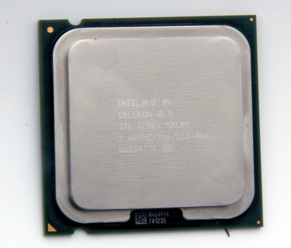 Pack 5 Processador Desktop Intel Celeron D331 2.66ghz Sl98v