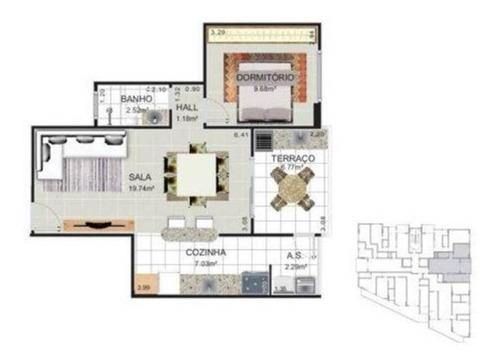 Imagem 1 de 2 de Apartamento - Venda - Guilhermina - Praia Grande - Gal15