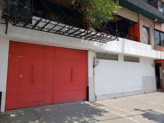 Excelente Bodega Comercial 1680 M2, Colonia Huipulco, Calle México- Xochimilco