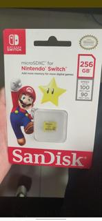 Sd Card For Nintendo Swicht 256 Gb