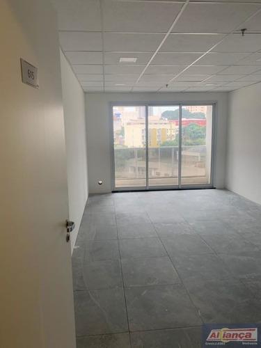 Sala Para Locação No Bairro Centro Em Guarulhos - Cod: Ai21947 - Ai21947