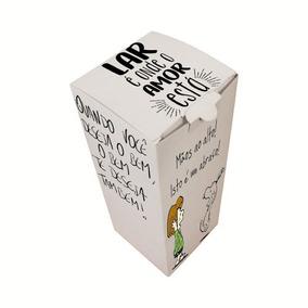 Caixa Média Squeeze Bola Resinada Sublimação 21,5x7,7x7,7cm