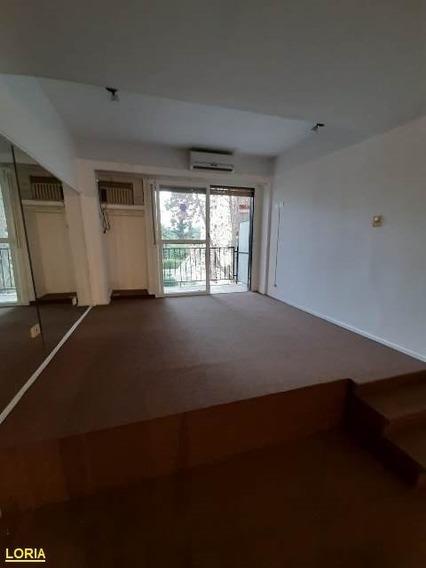 1 Ambiente - Apto Profesional Y Vivienda - Balcon.-