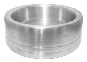 Comedouro Alumínio Pesado Grande 2 Litros