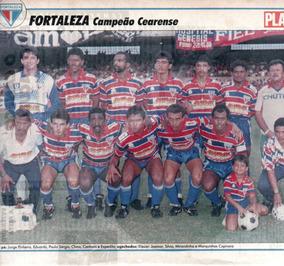 Fortaleza Campeão Cearense 1991 - Pôster Da Placar