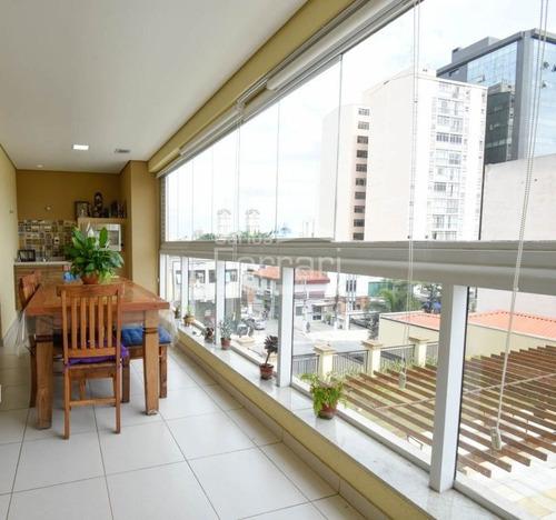 Imagem 1 de 15 de Apartamento Alto Padrão Á 2 Minutos Do Metro - Cf25462