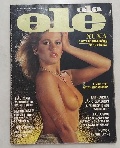 1 Revista Ele Ela Xuxa 146 De 1981