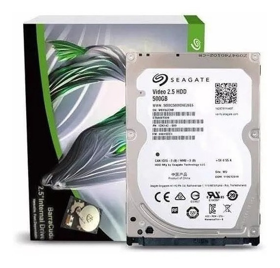 Hd 500gb Seagate Video 2.5 Hdd St500vt000 500gb