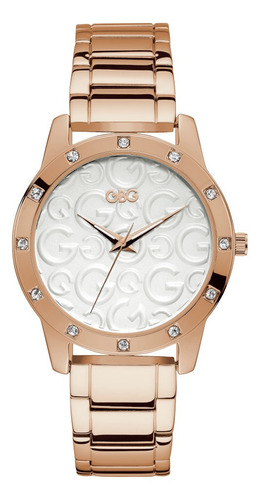 Reloj Para Dama G By Guess With Love G11951l2 Oro Rosa