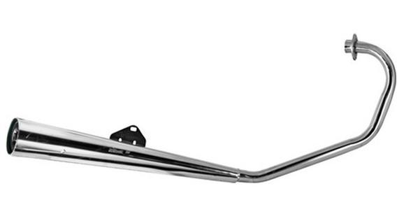 Escapamento Estralador Latinha Modelo Titan 160 2016 Polimet