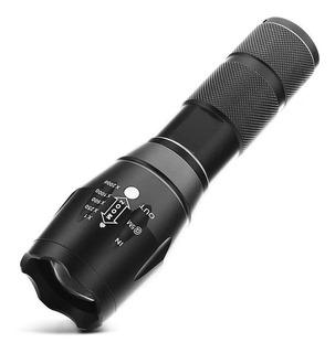 Lanterna X1000 Led T6 Com Zoom 2000x Potente